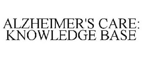 ALZHEIMER'S CARE: KNOWLEDGE BASE