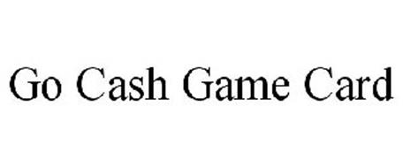 GO CASH GAME CARD