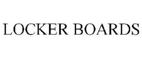 LOCKER BOARDS