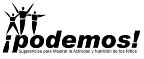 ¡PODEMOS! SUGERENCIAS PARA MEJORAR LA ACTIVIDAD Y NUTRICIÓN DE LOS NIÑOS