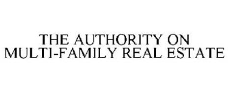 THE AUTHORITY ON MULTI-FAMILY REAL ESTATE
