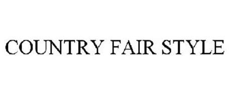 COUNTRY FAIR STYLE