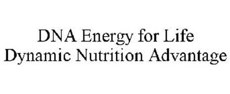 DNA ENERGY FOR LIFE DYNAMIC NUTRITION ADVANTAGE