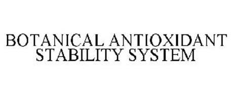 BOTANICAL ANTIOXIDANT STABILITY SYSTEM