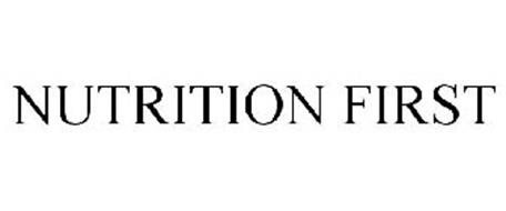 NUTRITION FIRST