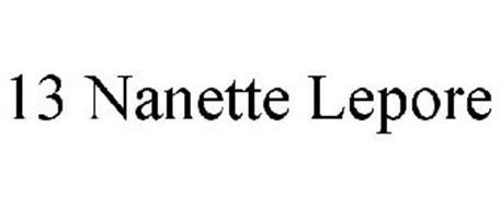 13 NANETTE LEPORE