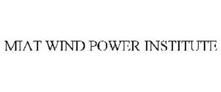 MIAT WIND POWER INSTITUTE