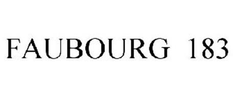 FAUBOURG 183