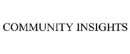 COMMUNITY INSIGHTS