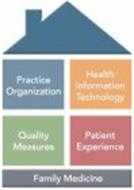 PRACTICE ORGANIZATION HEALTH INFORMATION TECHNOLOGY QUALITY MEASURES PATIENT EXPERIENCE FAMILY MEDICINE