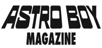 ASTRO BOY MAGAZINE