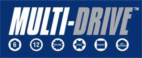MULTI-DRIVE 6 12 SPLINE TORX SQUARE 50% ROUNDED