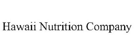 HAWAII NUTRITION COMPANY