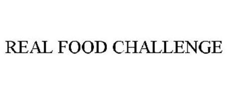 REAL FOOD CHALLENGE