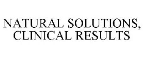 NATURAL SOLUTIONS, CLINICAL RESULTS