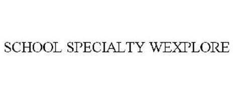 SCHOOL SPECIALTY WEXPLORE