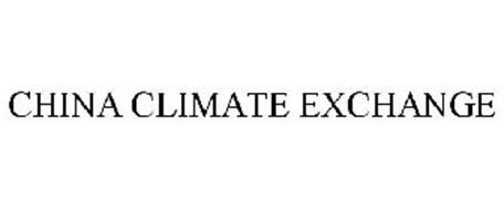 CHINA CLIMATE EXCHANGE