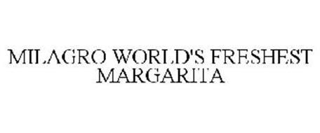 MILAGRO WORLD'S FRESHEST MARGARITA