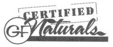 GF CERTIFIED GF NATURALS