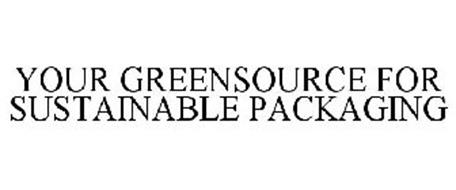 YOUR GREENSOURCE FOR SUSTAINABLE PACKAGING