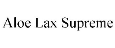ALOE LAX SUPREME