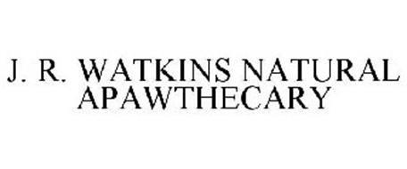 J. R. WATKINS NATURAL APAWTHECARY
