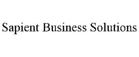 SAPIENT BUSINESS SOLUTIONS