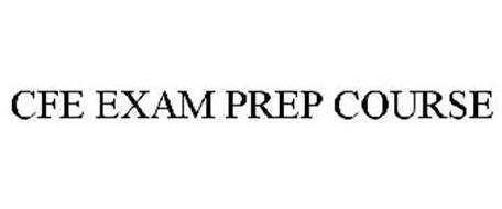 CFE EXAM PREP COURSE