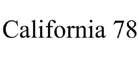 CALIFORNIA 78