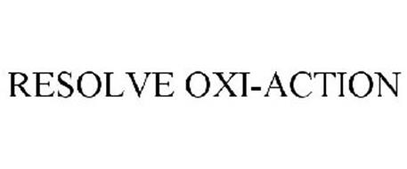RESOLVE OXI-ACTION