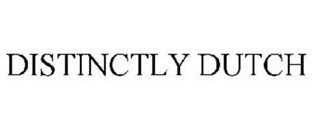 DISTINCTLY DUTCH
