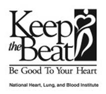 KEEP THE BEAT BE GOOD TO YOUR HEART NATIONAL HEART, LUNG, AND BLOOD INSTITUTE