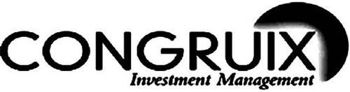 CONGRUIX INVESTMENT MANAGEMENT