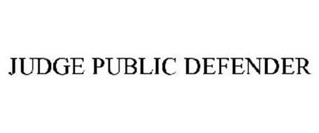 JUDGE PUBLIC DEFENDER