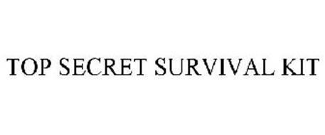 TOP SECRET SURVIVAL KIT
