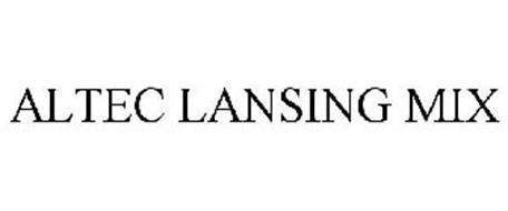 ALTEC LANSING MIX