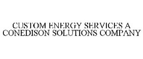 CUSTOM ENERGY SERVICES A CONEDISON SOLUTIONS COMPANY