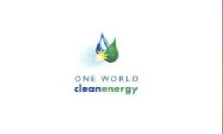 ONE WORLD CLEANENERGY