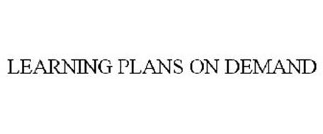 LEARNING PLANS ON DEMAND