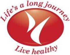 H LIFE'S A LONG JOURNEY LIVE HEALTHY