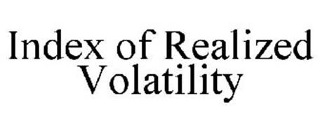 INDEX OF REALIZED VOLATILITY