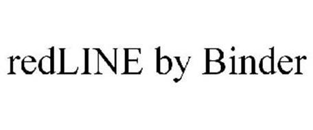 REDLINE BY BINDER