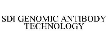 SDI GENOMIC ANTIBODY TECHNOLOGY