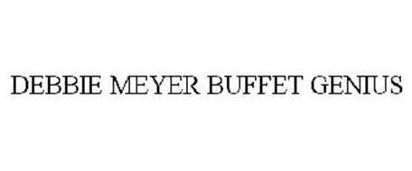DEBBIE MEYER BUFFET GENIUS