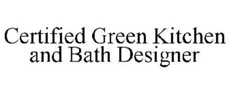 CERTIFIED GREEN KITCHEN AND BATH DESIGNER