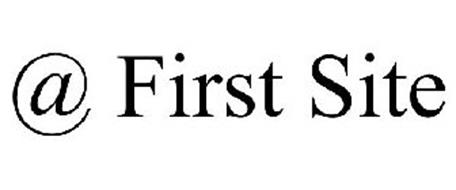 @ FIRST SITE
