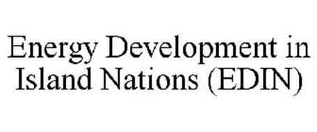 ENERGY DEVELOPMENT IN ISLAND NATIONS (EDIN)
