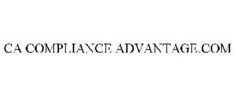 CA COMPLIANCE ADVANTAGE.COM
