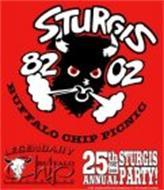 STURGIS 82 BUFFALO CHIP PICNIC