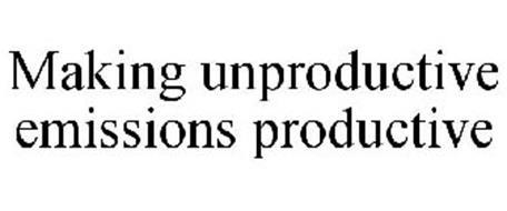 MAKING UNPRODUCTIVE EMISSIONS PRODUCTIVE